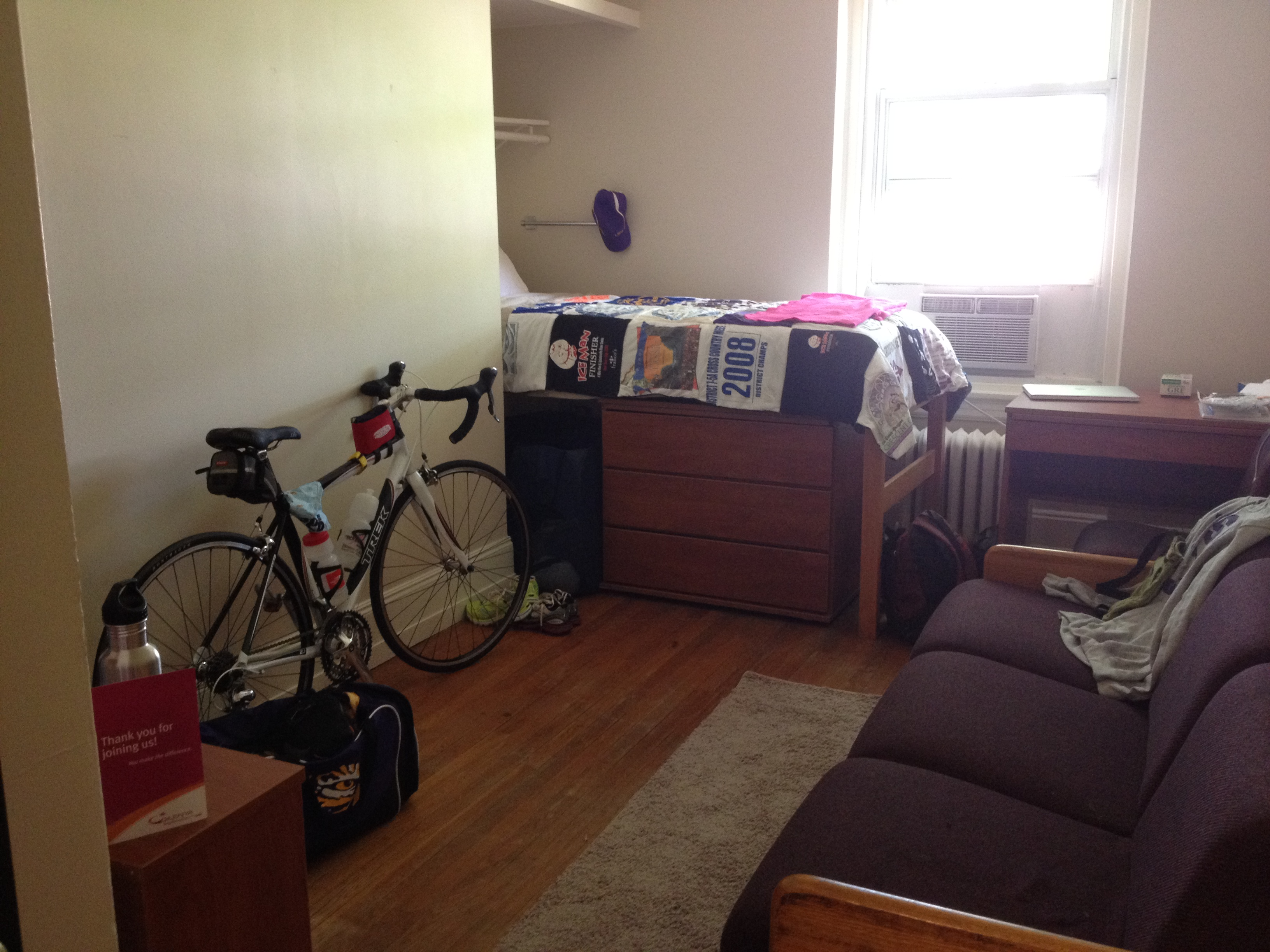 Great Giles Residence Hall, Duke University. My Room ... Part 25